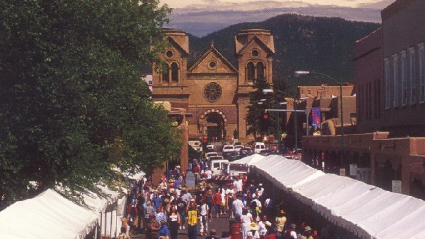 Market view looking toward Cathedral