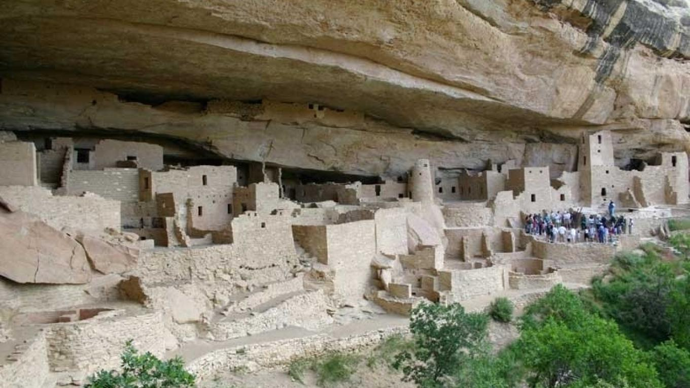 Cliff Palace dwelling in MVNP – Christopher Marona for ARAMARK