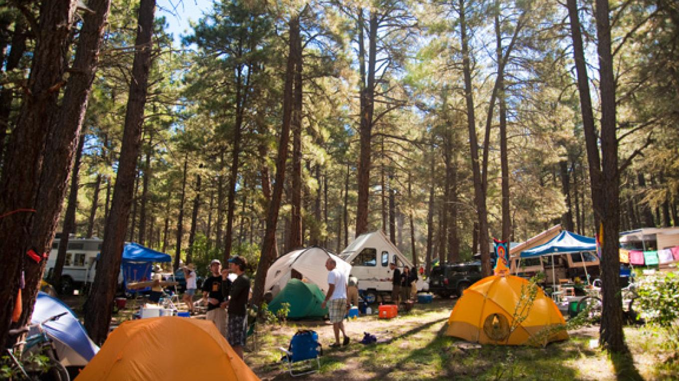 Reservoir Hill features some of the best festival camping in the world! – Mike Pierce