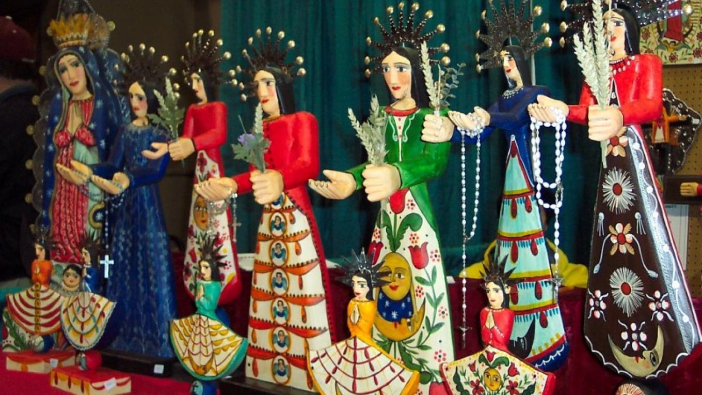 Painted Bultos