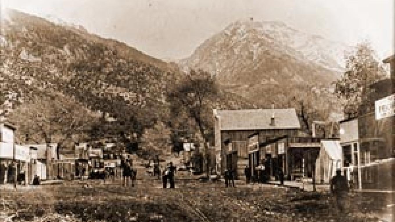 Crestone Main Street, circa 1893