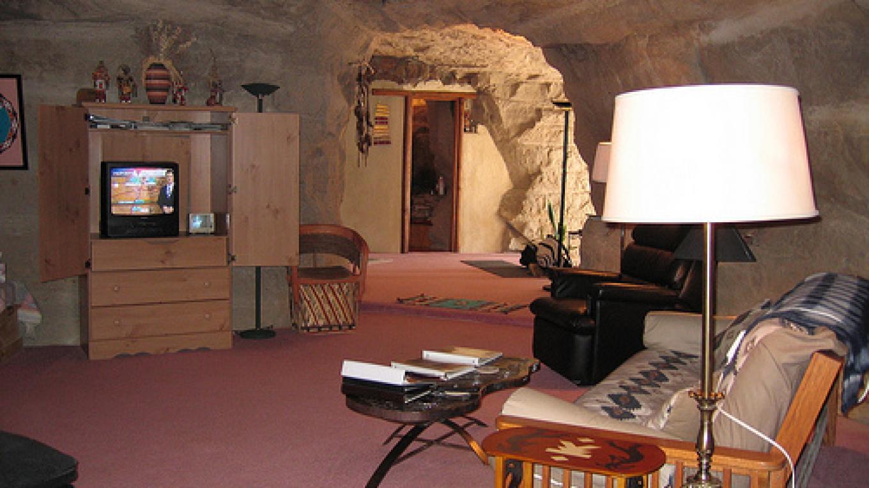 Kiva room – Kokopelli's Cave