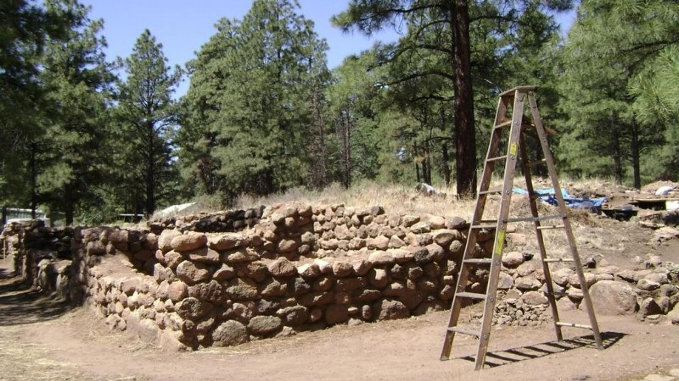 Archaeologists have unearthed the mysteries of life in the tall pines 800 years ago. – Ron Robinson, Arizona Archaeological Society