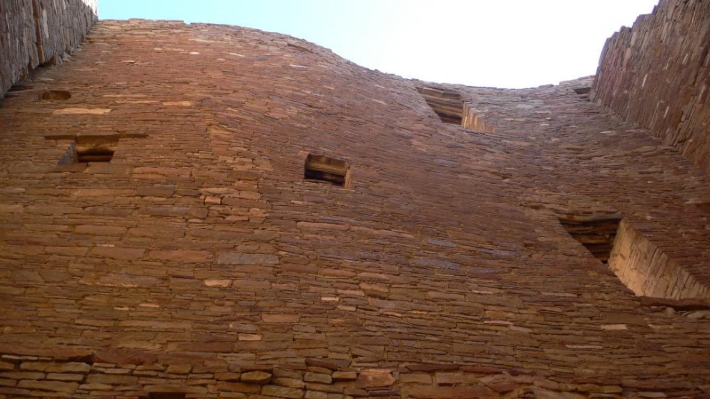 Wall at Pueblo Bonito – Tanya Ortega de Chamberlain