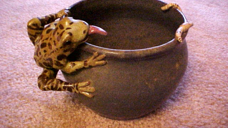 Frog & Worm Vase – Kent Anderson