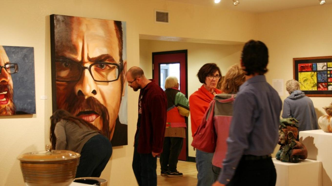 Reception for San Luis Valley K-12 Art Teachers' Exhibit – Mary Jo Martin