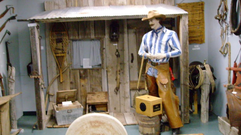 Interactive Cowboy display – Joyce Gunn
