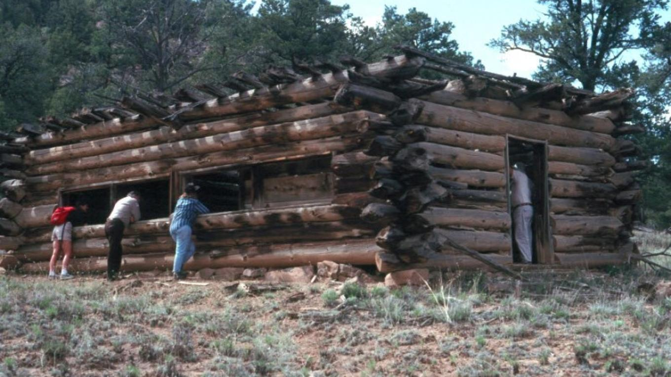 This log one-room school house dates to the 1920s when several small farming and ranching communities were established in El MalPais National Conservation Area. – blm.gov