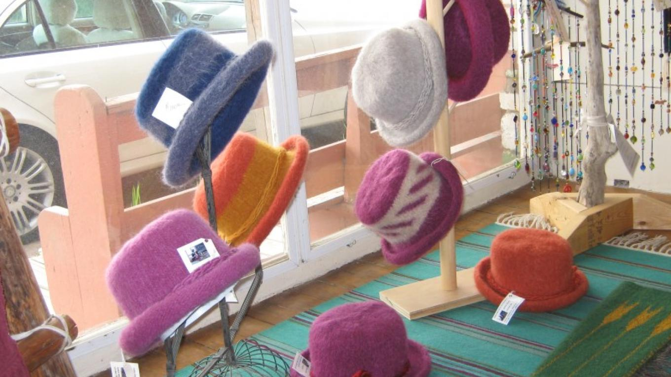 Great selection of colorful wool felted hats – Nancy Sullivan