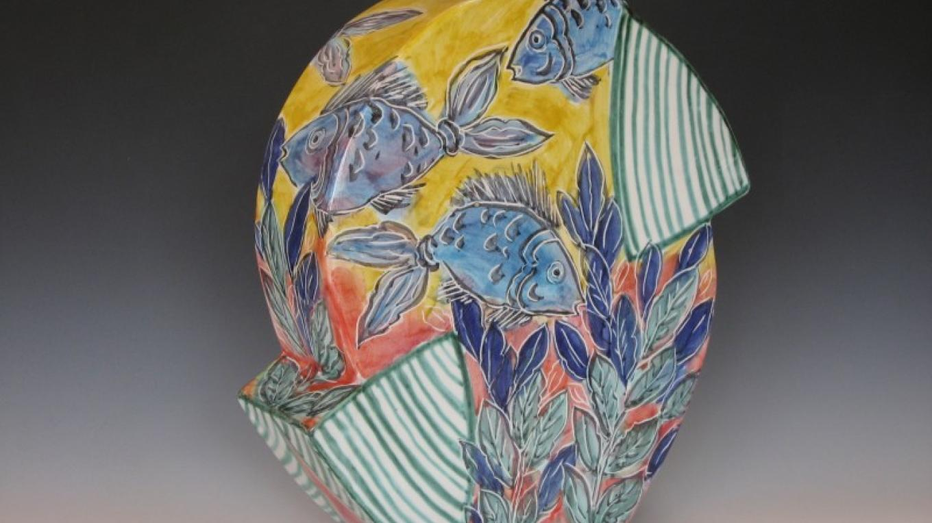 Poster image for the 29th Annual Dixon Studio Tour in 2010
