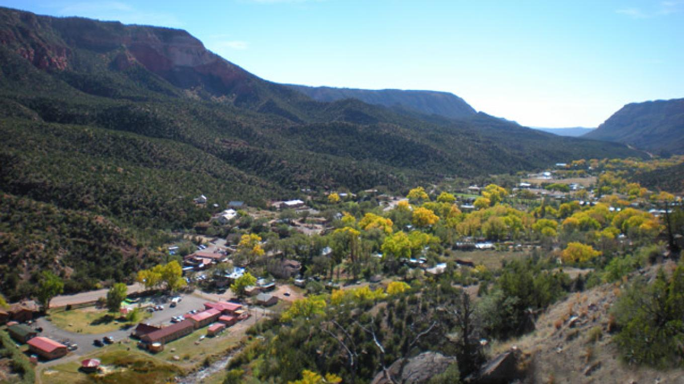 Village of Jemez Springs - Autumn – Greg Shores