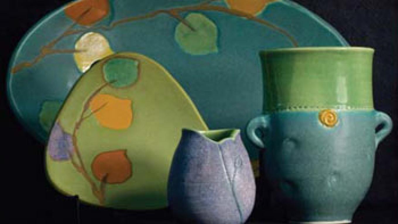 Pottery by Glenda Jordan, available at Rare Things Gallery – Kara Brittain