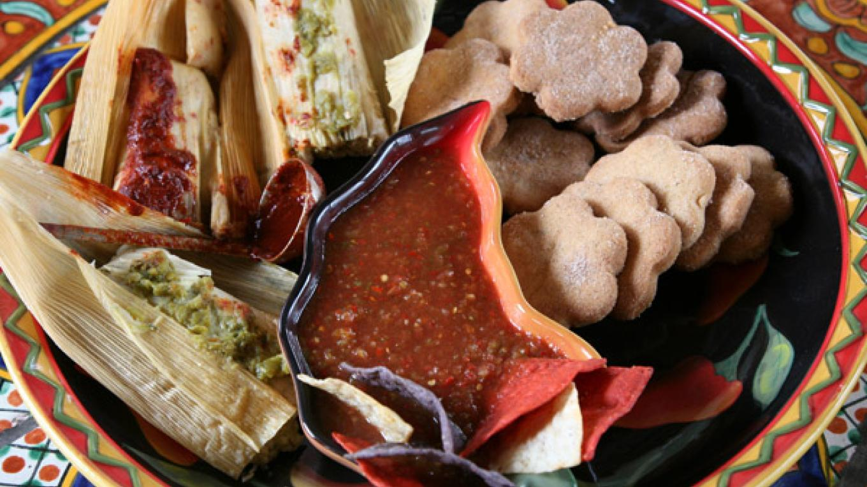 Some of Leona's award-winning cuisine! – Richard L. Rieckenberg