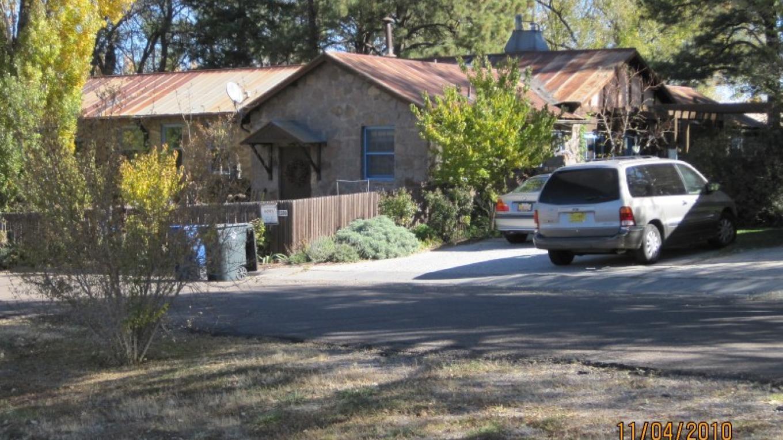 A private residence on Bathtub Row, originally constructed by Los Alamos Ranch School – G. Strickfaden