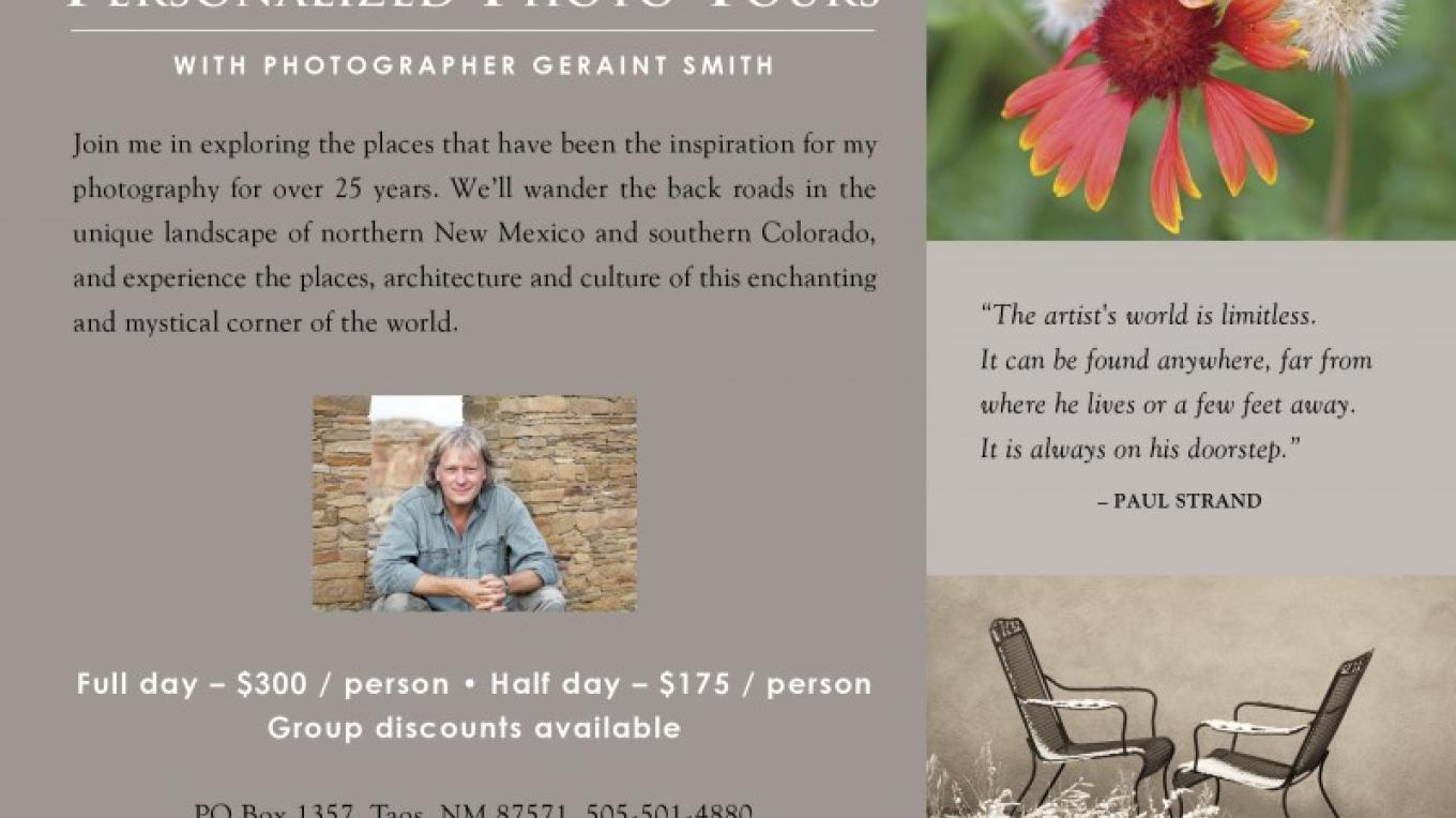 Personalized Photo Tours of the Land of Enchantment – Copyright © 2010 Geraint Smith