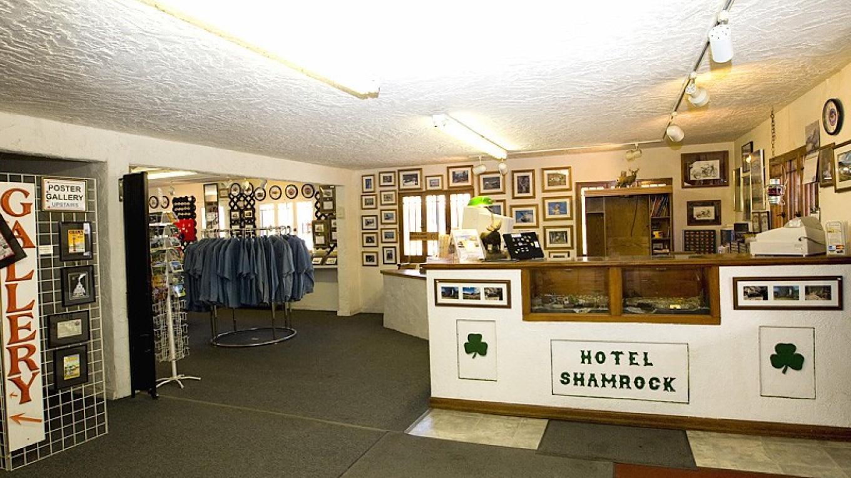 Front Desk & Entrance To Train Stuff Gift Shop – Roger Hogan
