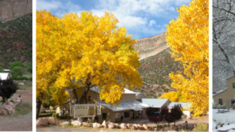 The Inn @ 6300' - seasons view – B Janecka