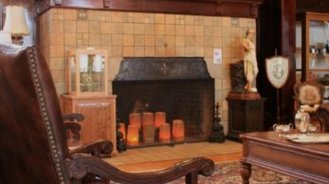Luther Bean Museum, fireplace – Kat Olance