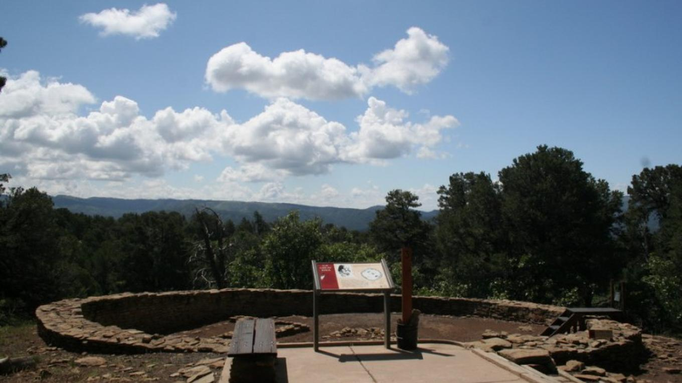 Great Kiva at Chimney Rock – Helen Richardson