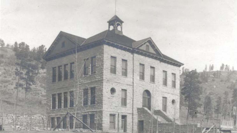 Historic Photo of the Animas City School