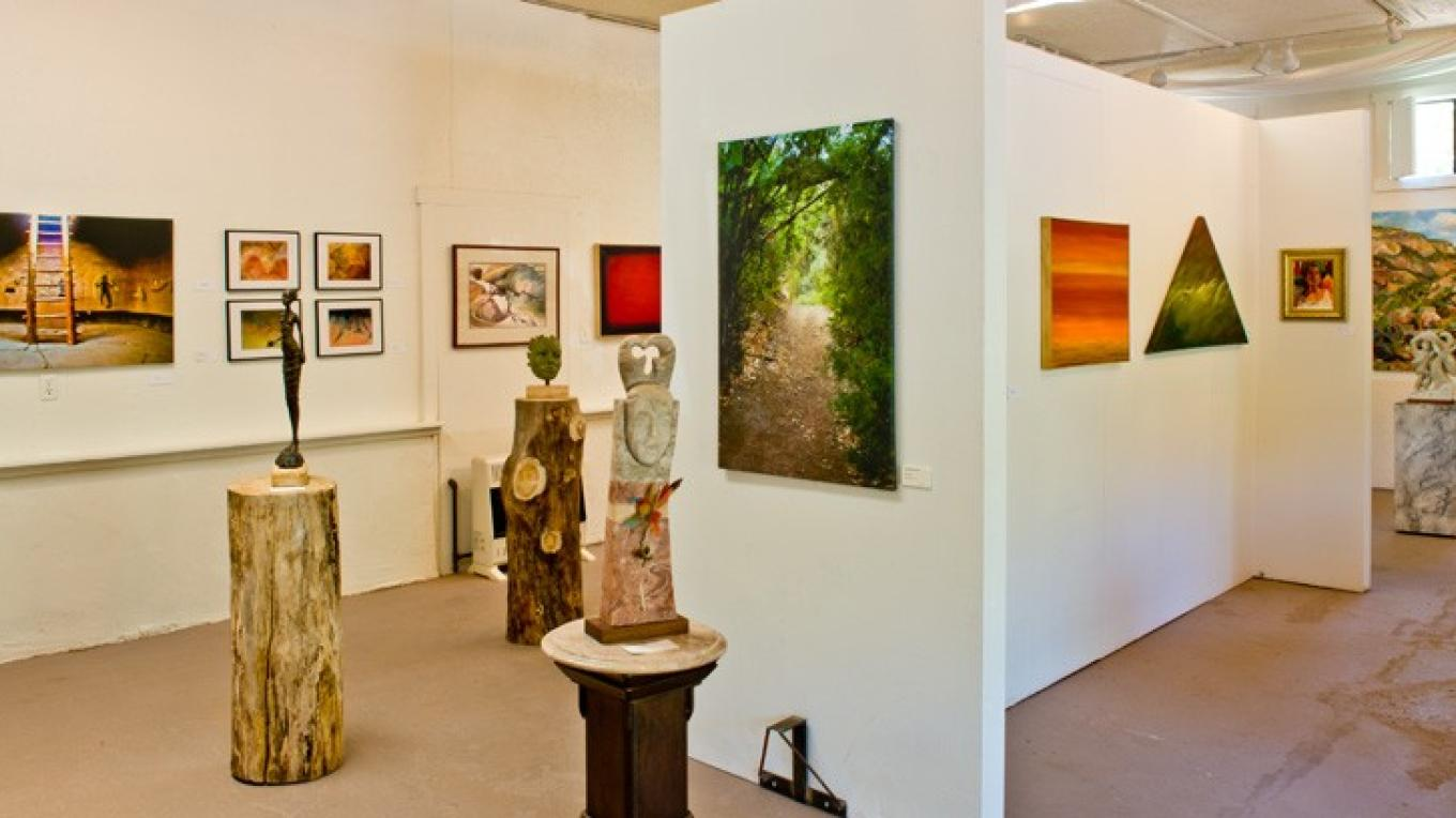 Jemez Fine Art Gallery hosts a variety of local Jemez Valley artists' work. – Theodore Greer