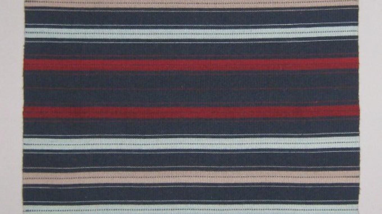 Traditional striped blanket – Nancy Sullivan