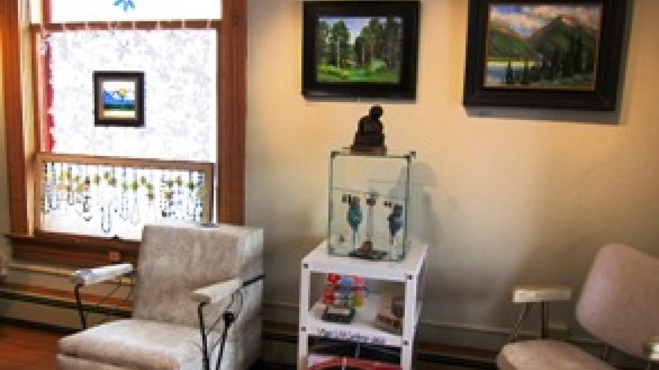 Inside View of Shop – Jenna Ford