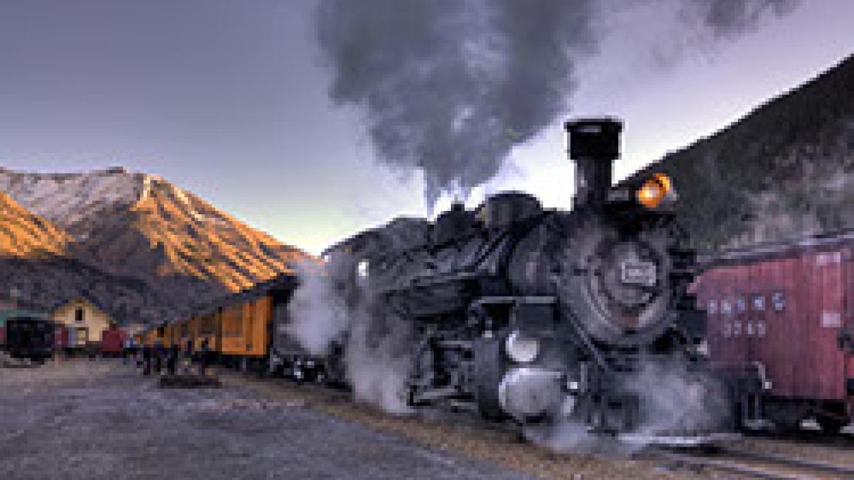The Silverton Durango Narrow Guage Steam Locomotive – © Richard Durnan
