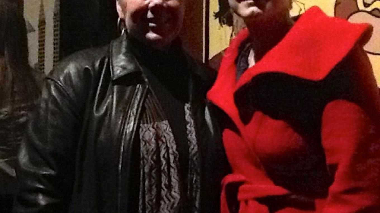 February 2014 - Lori Faye Bock with international recording star Ane Brun in Seattle. – Diane Haddon