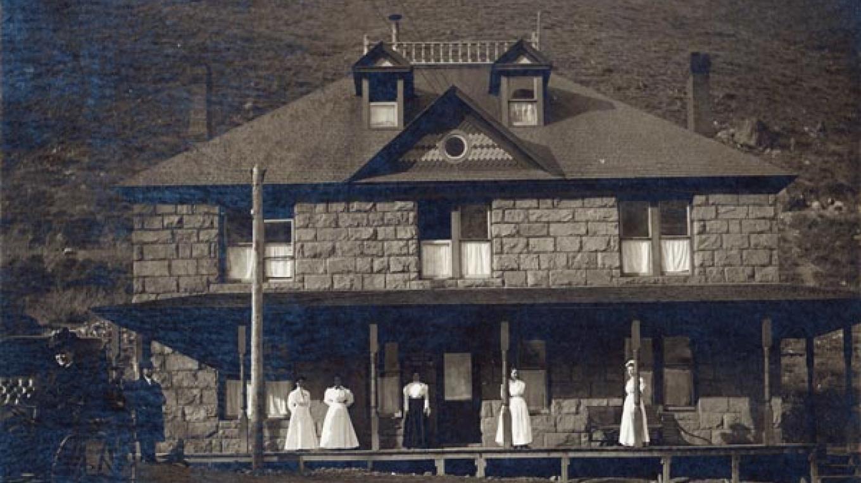 The Historic Landmark Hall's Hospital now houses the Telluride Historical Museum. – Joseph Byers, Telluride, CO