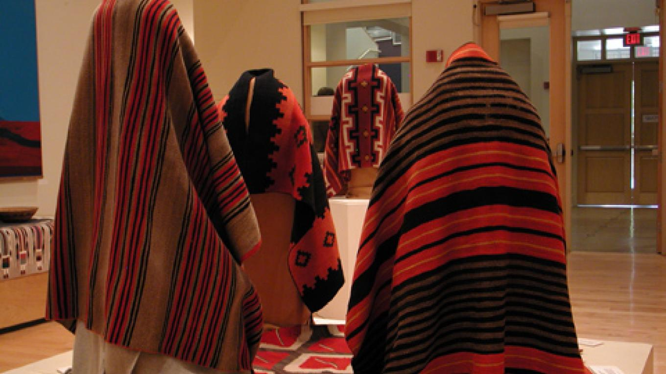 Outstanding collection of textiles that represent 800 years of weaving in the Southwest. – Center of SW Studies