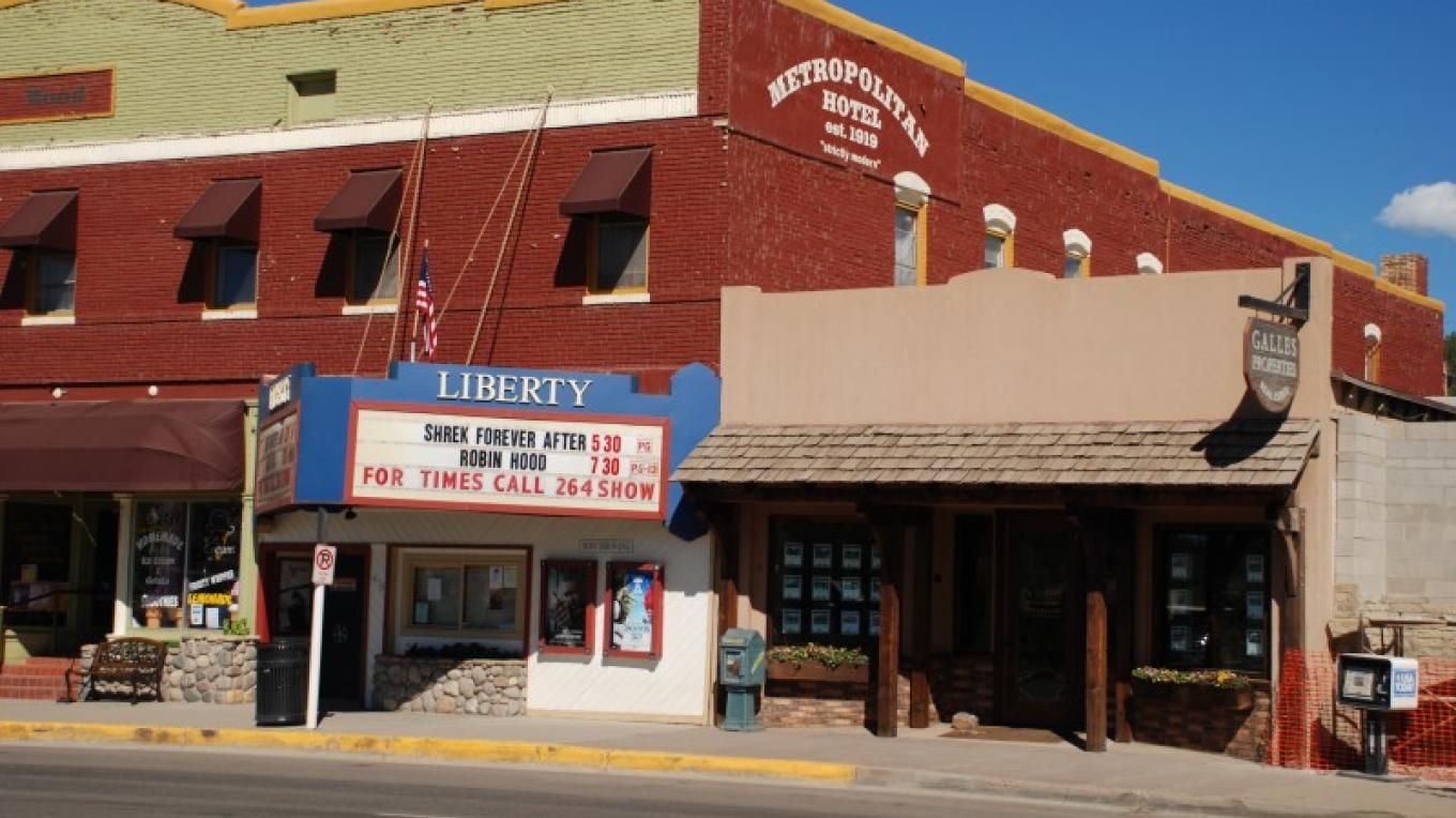 Historic Liberty Theater in downtown Pagosa Springs – Markus Hughes