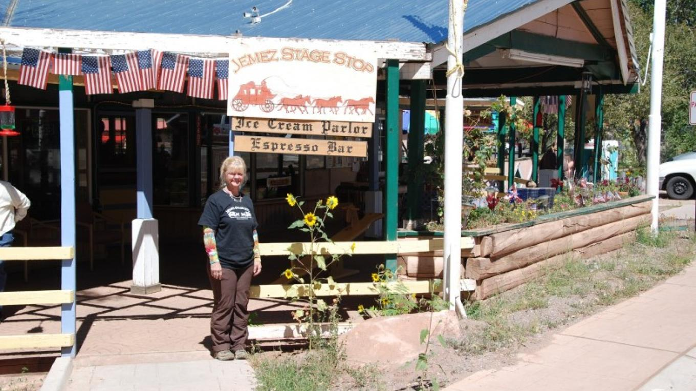 Cyndie Shelton, Owner; Jemez Stage Stop – Michael Farber