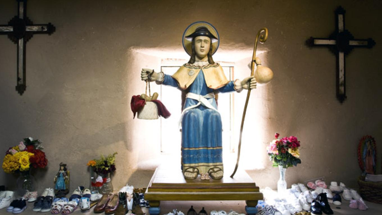 Bulto of Santo Nino de Atocha by Felix Lopez – Richard L. Rieckenberg
