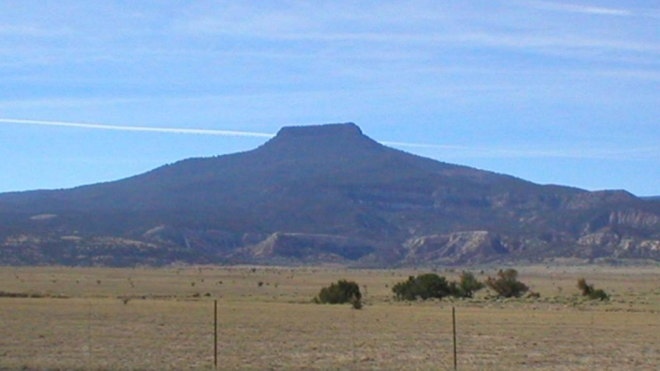 View of Cerro Pedernál from the Joya del Pedernál. – Roberto Valdez