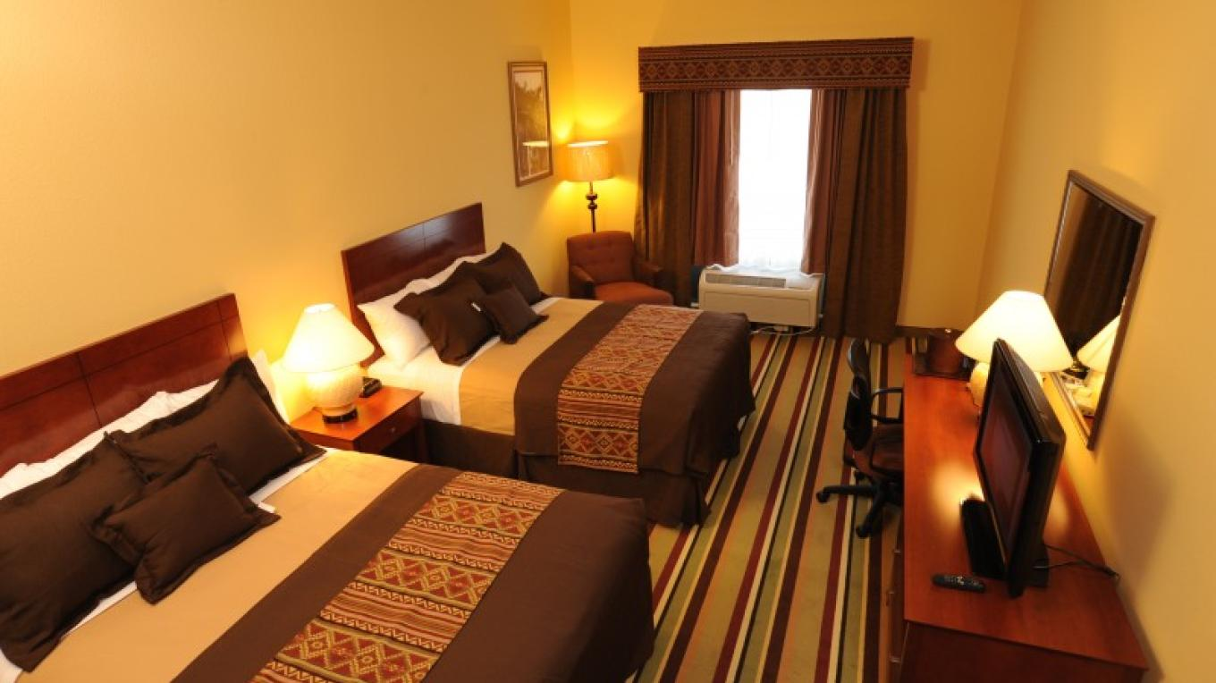 Double Room at Moenkopi Legacy Inn and Suites – Courtesy of MLI