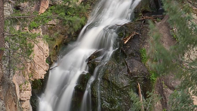Jemez Falls nearby