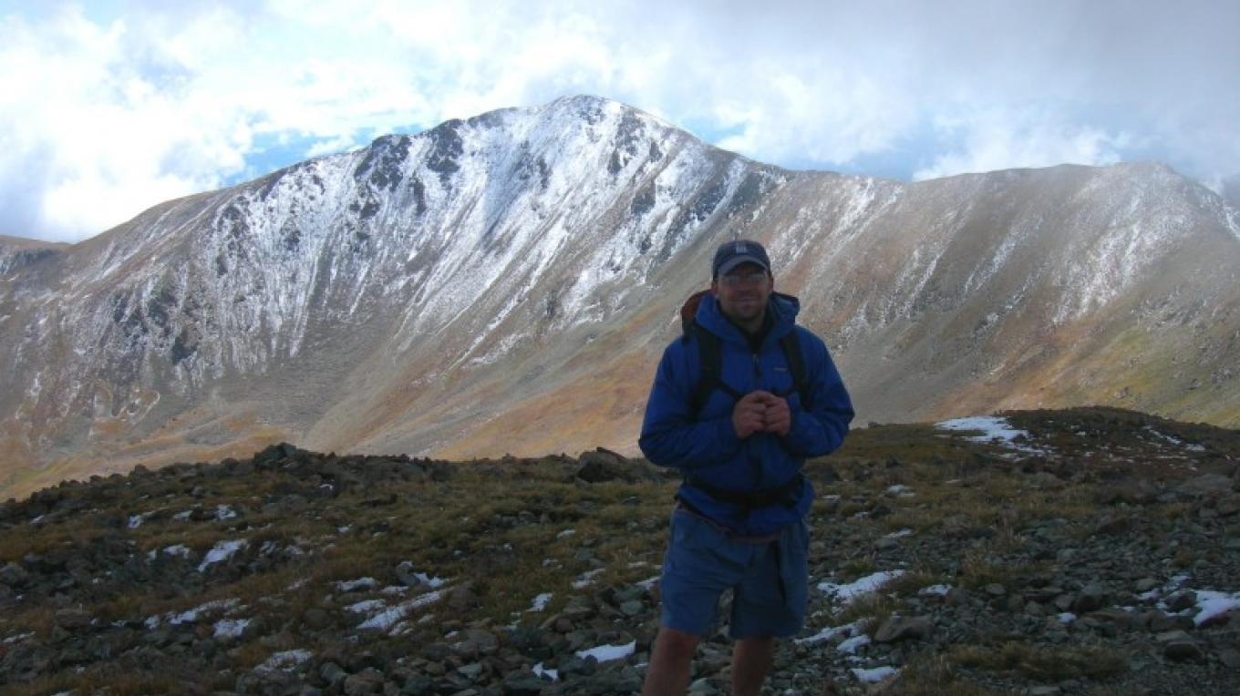 On Top of Wheeler Peak. Wheeler Peak Wilderness – Jim O'Donnell