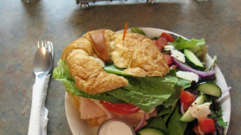 A Front Porch Croissant Sandwich – Claire Cote