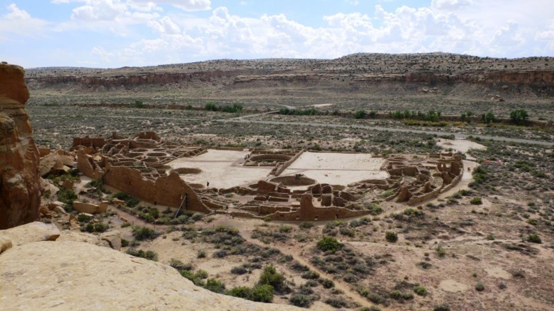 Pueblo Bonito Overlook on Pueblo Alto Trail – Tanya Ortega de Chamberlain