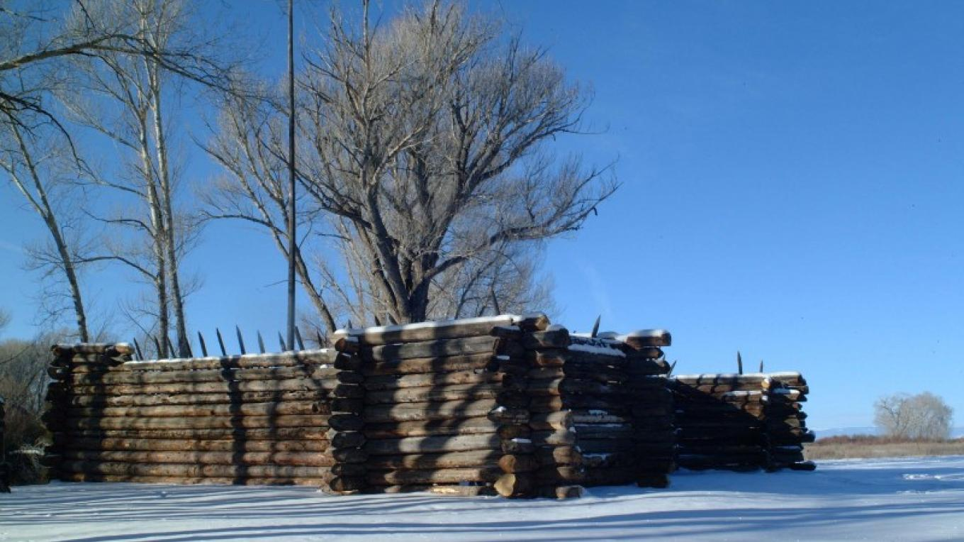 Pike's Stockade in winter – Rick Manzanares