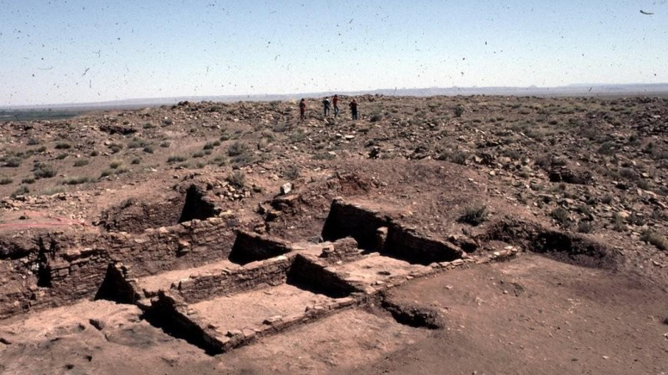 Several rooms of Homolovi II are excavated and preserved to illustrate early life styles – Ron Robinson, Arizona Archaeological Society