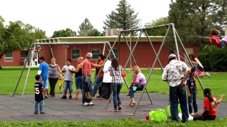 Kids palying in the park – Ed Kotyk