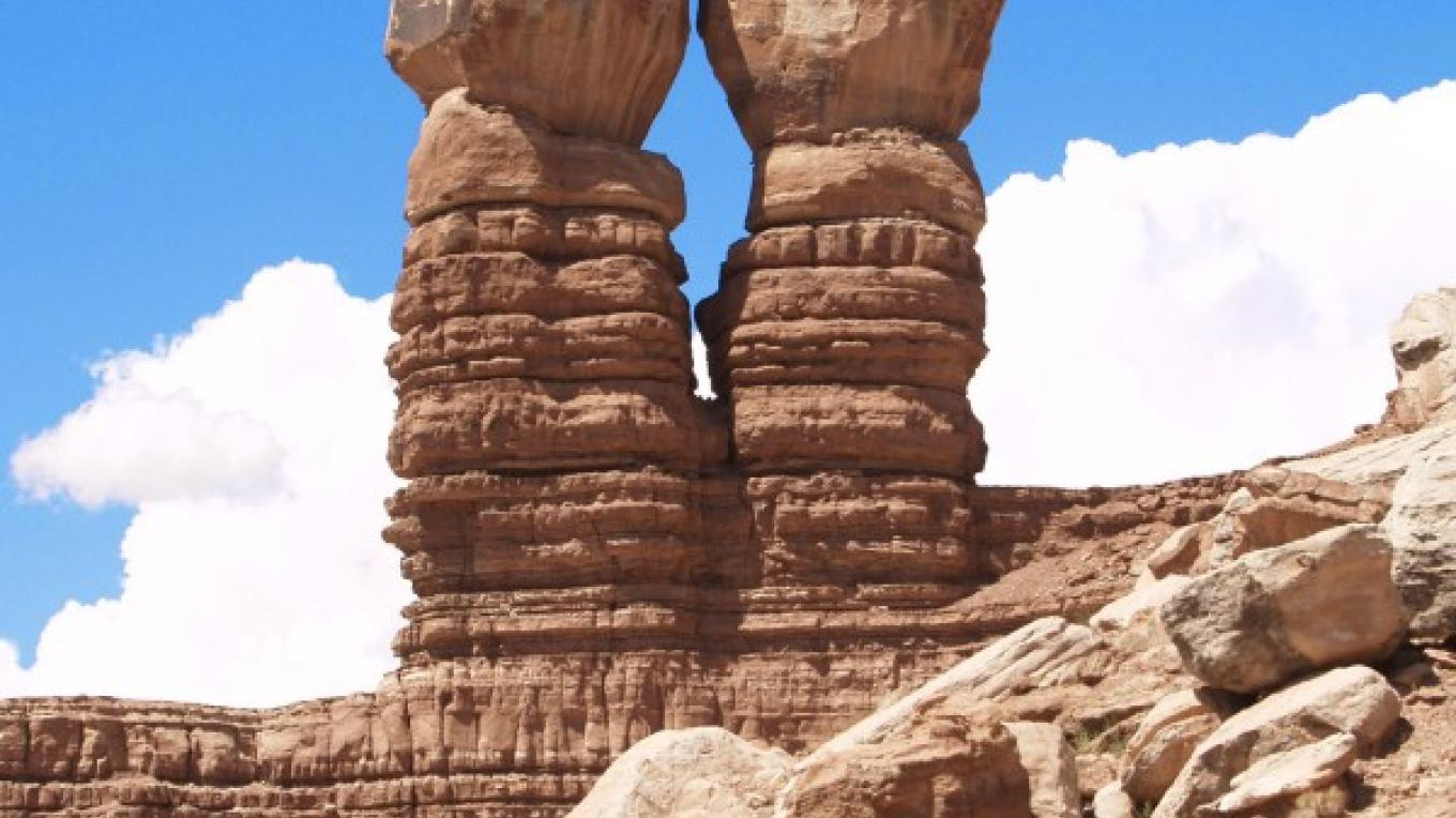 Twin Rocks Formation. – Tina Finch