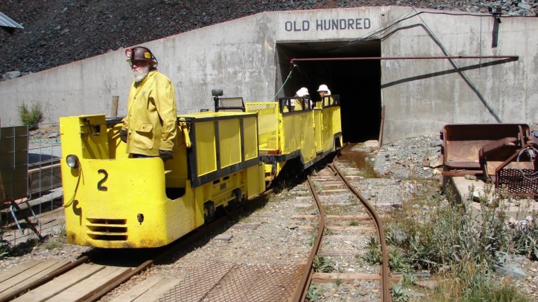 Old 100 Mine Tour – William R. Jones