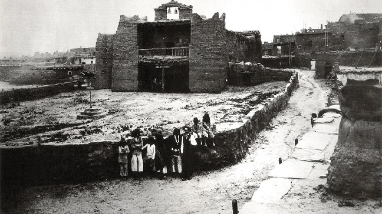 Old Zuni Mission ca. 1890's – Ben Wittick