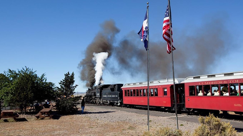 Morning Departure From Antonito, Colorado – Roger Hogan