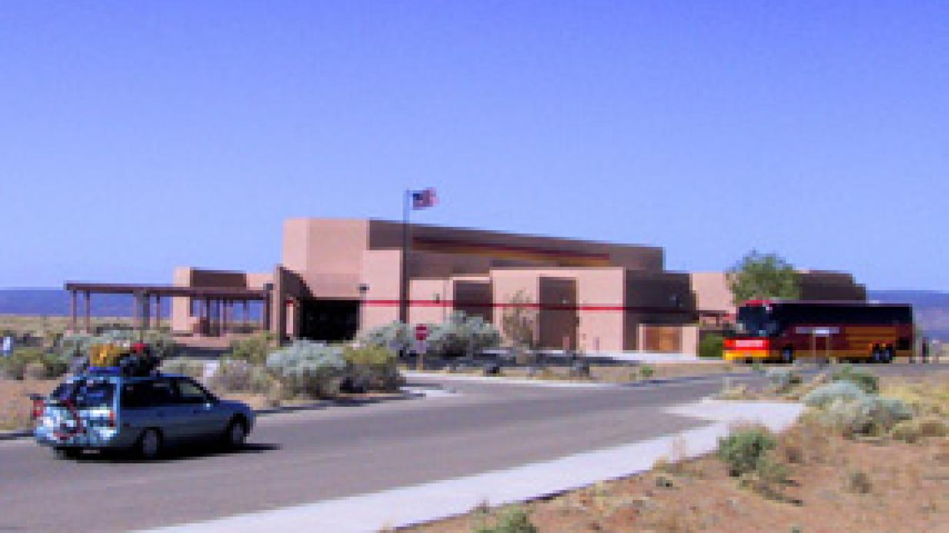 The Northwest New Mexico Visitor Center is at Exit 85 on I-40 in Grants, New Mexico. – Rick Best