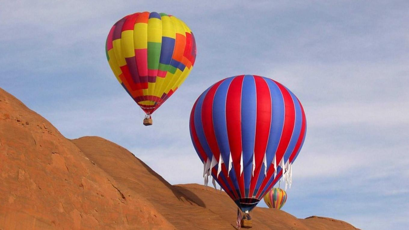Red Rock Balloon Rally - the world's best place to fly – Charles Koehler