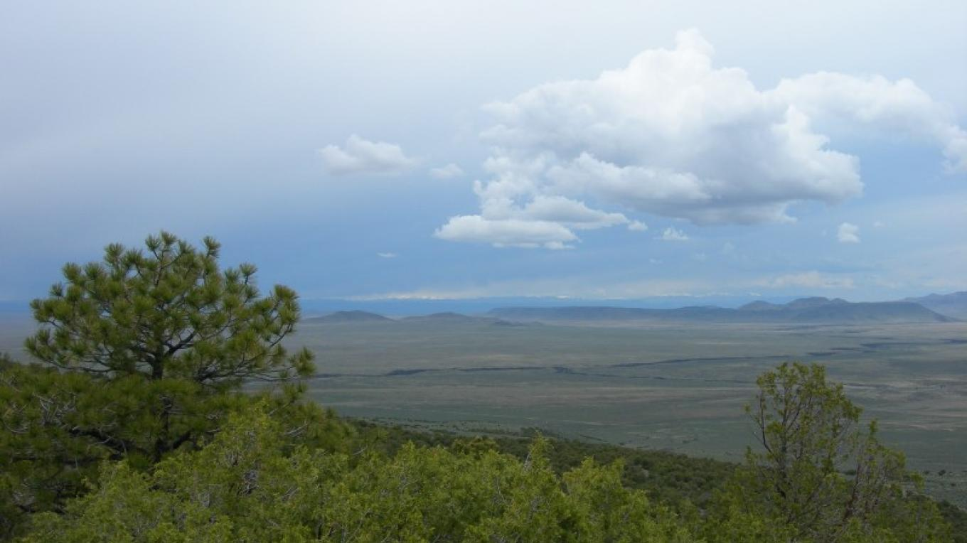 View from the North Side of Ute Mountain looking northwest – Jim O'Donnell